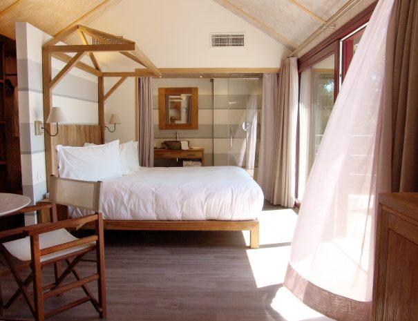 Suite camera con tenda