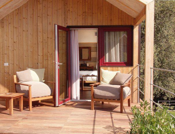 Terrazza del Wooden Cottage