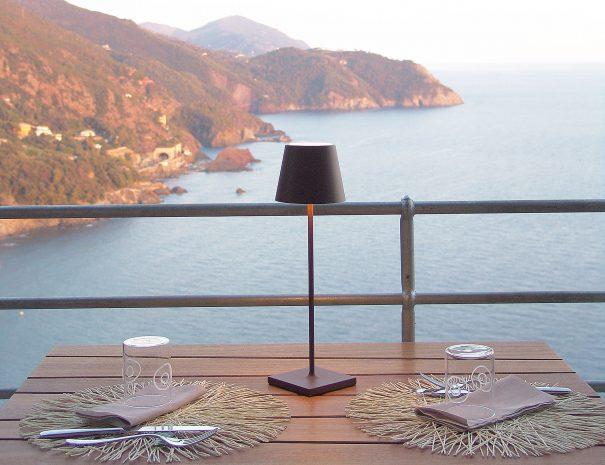 Tavolo in terrazza