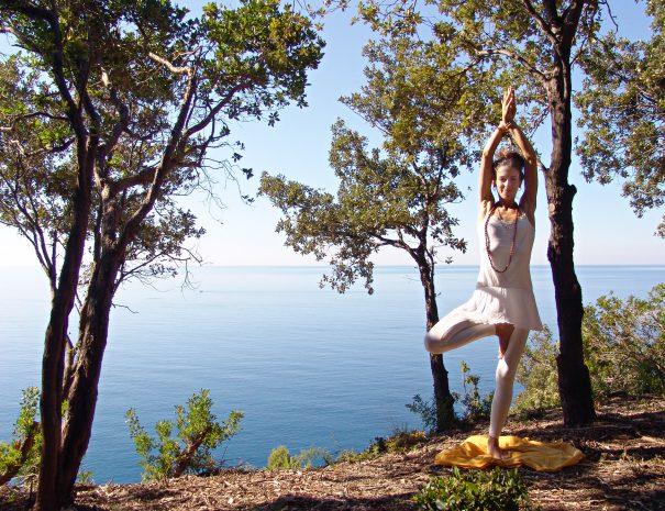 Yoga nel bosco